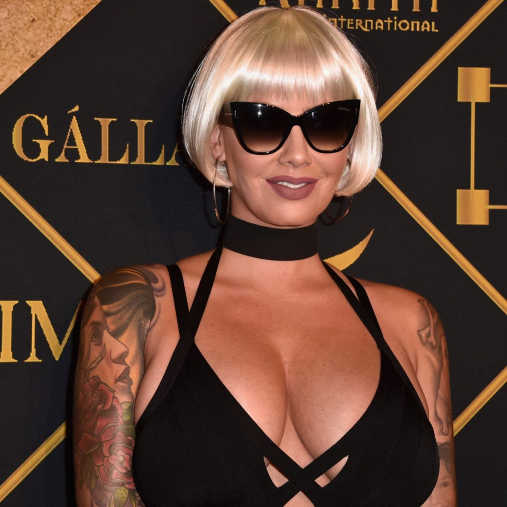 10 Hairstyles Amber Rose Wore Before Her Infamous Short Hair
