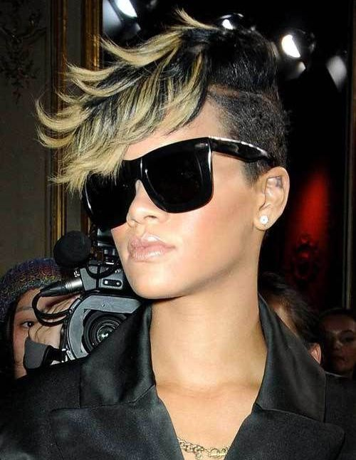 13 Of Rihanna S Trendiest Short Hairstyles 2019