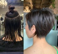 15 of the Best Before and After Short Hairstyle Photos