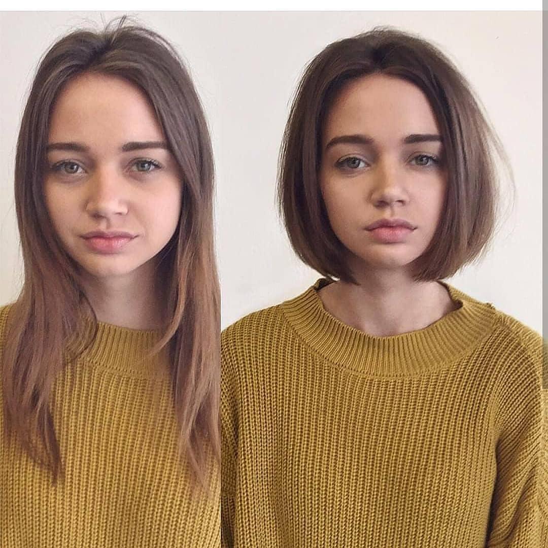 110 Before After Short Hair Photos Long To Short Hair Transformations