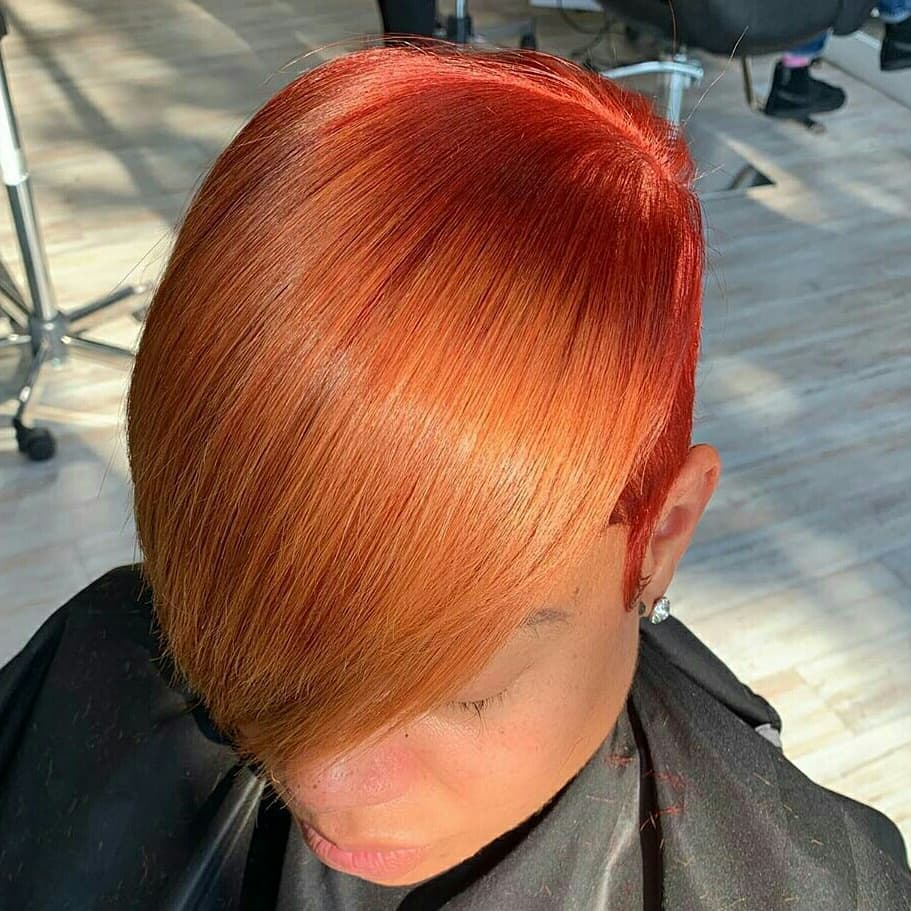 60 Short Red Hairstyles And New Trends In 2021