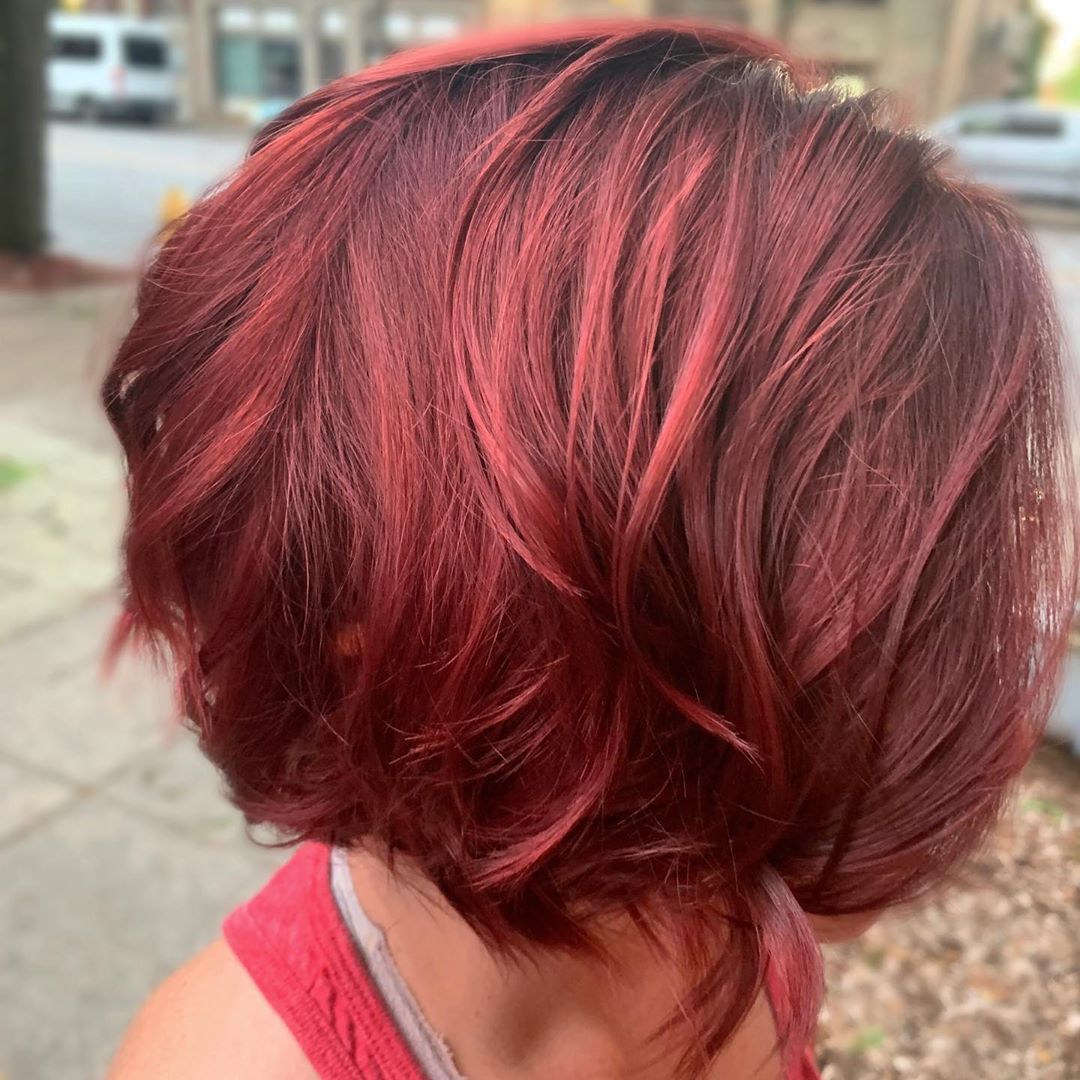 25 Beautiful Short Burgundy Hairstyles Perfect For A Change