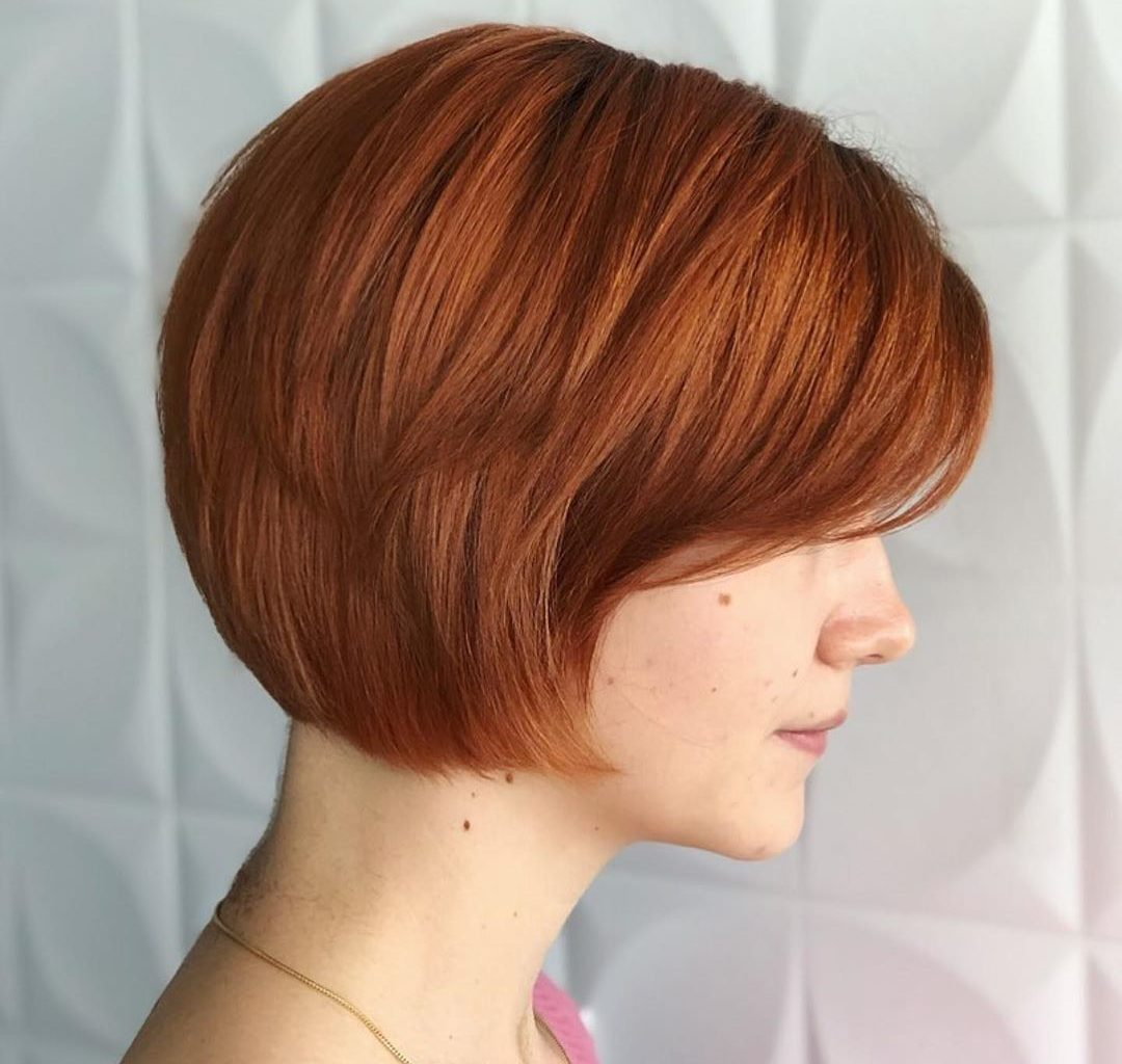 20 Stunning Short Auburn Hairstyles And New Trends In 2019