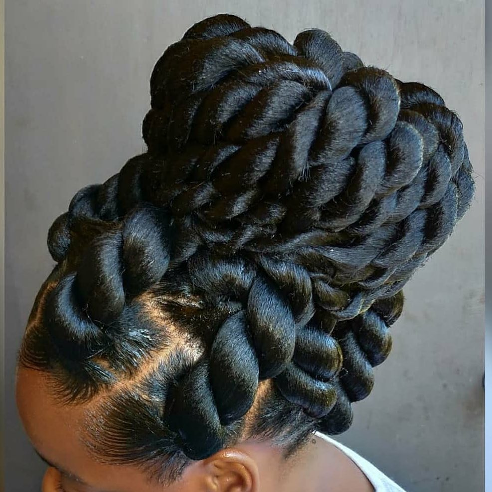 These large Senegalese twists are stunning