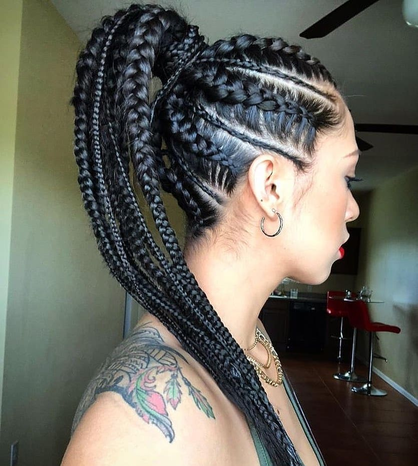 Senegalese twists are perfect to add a little bling to
