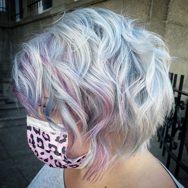 short silver hairstyles